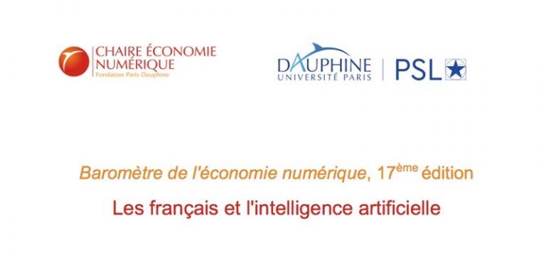 56% des Français voient l'IA comme un progrès selon le baromètre trimestriel de l'économie numérique
