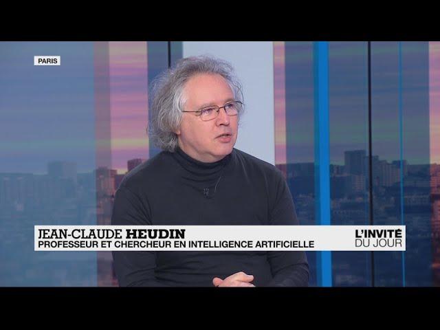 """Jean-Claude Heudin sur France 24 : """"L'intelligence artificielle, c'est un peu comme la force dans Star Wars"""""""