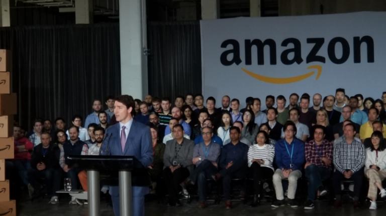 Canada : 3000 postes en IA, cloud et e-commerce seront créés par Amazon d'ici 2022