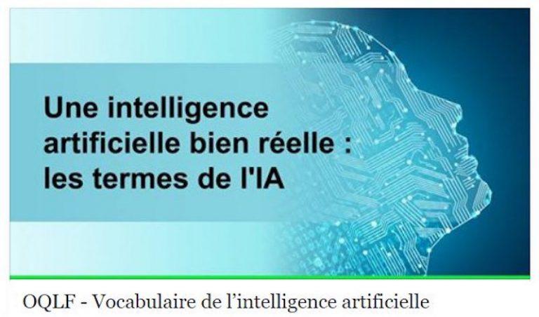 L'Office québécois de la langue française dévoile 85 fiches du vocabulaire de l'intelligence artificielle