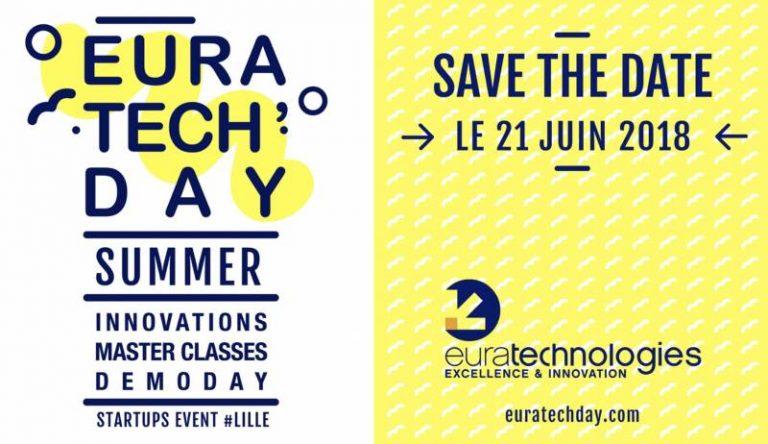 L'« EuraTech'Day Summer » revient pour sa 4e édition le 21 juin 2018