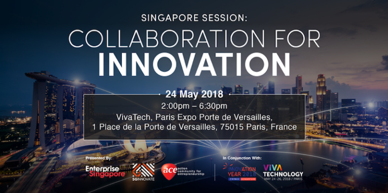 L'innovation franco-singapourienne IA, robotique, blockchain sera au centre de la Singapore Session à Vivatech