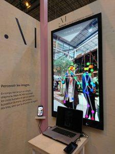Application smartphone de reconnaissance du corps