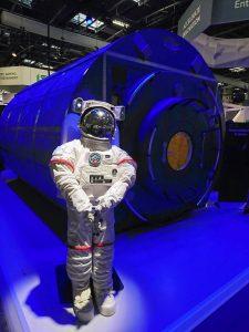 Découverte d'un astronaute