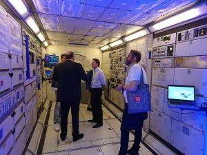Visite d'une capsule
