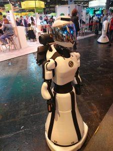 Un robot bien sympathique