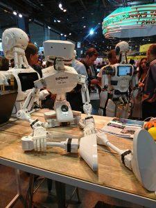 Un design réussi de robot