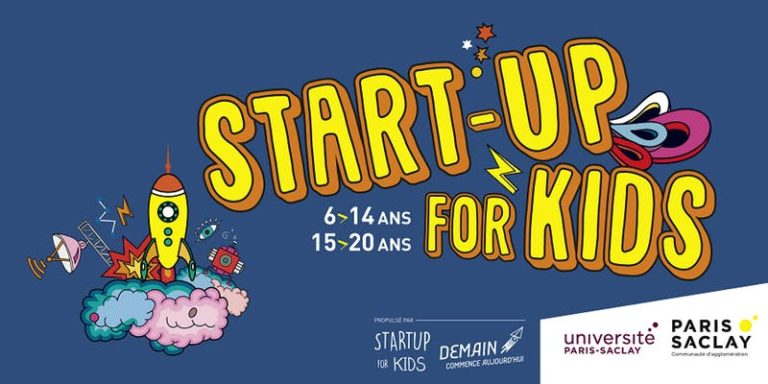 IA, Sciences cognitives et Éducation : Startup For Kids à Paris Saclay du 26 au 28 mai 2018
