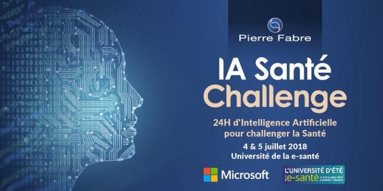 IA Santé Challenge, une deuxième édition 100% intelligence artificielle les 4 et 5 juillet 2018