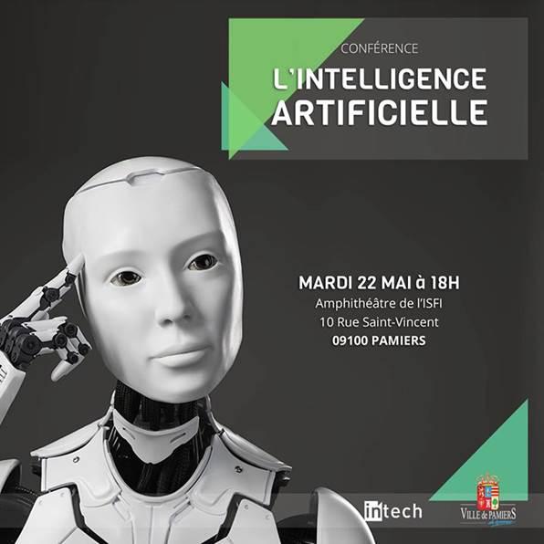 Conférence sur l'intelligence artificielle le 22 mai 2018 à Pamiers