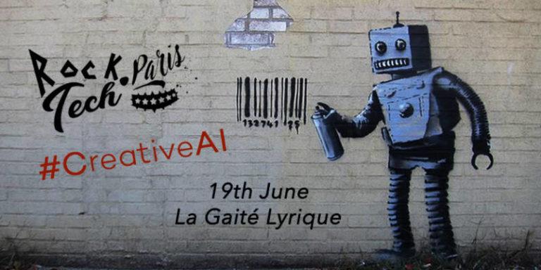 La 5e édition de RockTech Paris portera sur l'intelligence artificielle et la création culturelle