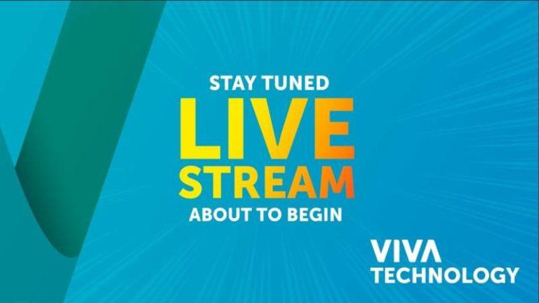 Regardez en direct la retransmission du salon Vivatech – Stage one – Jour 2 – 25 Mai 2018