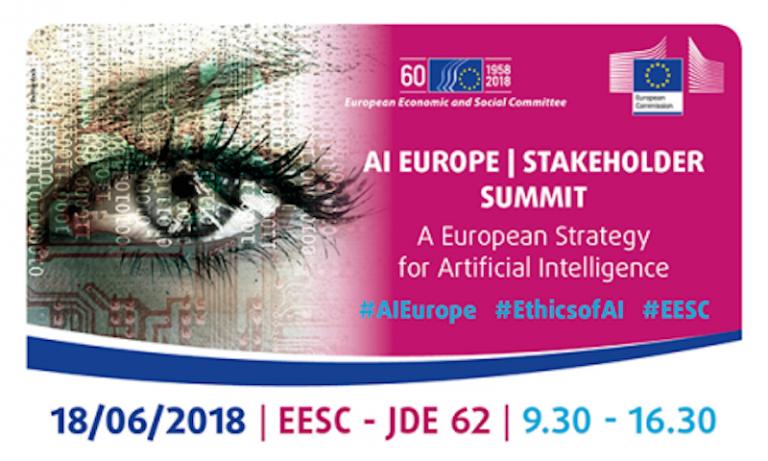 Une stratégie européenne pour l'intelligence artificielle : le Comité économique et social européen organise un Sommet des parties prenantes