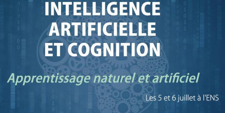 """""""Intelligence artificielle et cognition : Apprentissage naturel et artificiel"""" : la conférence Olivier Legrain se tiendra à l'ENS les 5 et 6 juillet"""