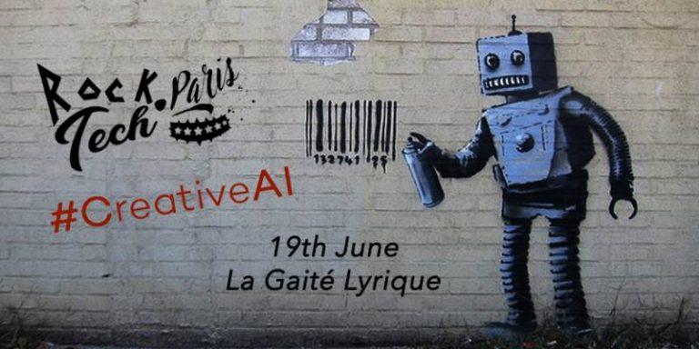 Création par intelligence artificielle : découvrez les 6 finalistes de RockTech Paris #CreativeAI