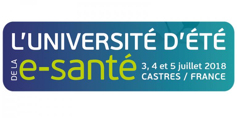 L'Université d'été de la e-santé accueillera plus de 900 participants du 3 au 5 juillet 2018