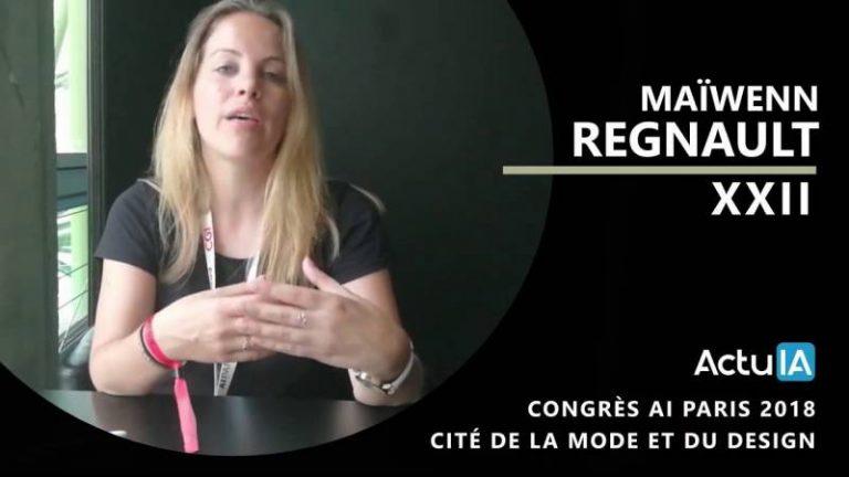 Interview de XXII dans le cadre d'AI Paris 2018