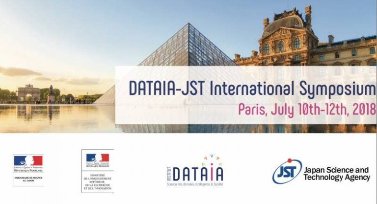 "Workshop France-Japon ""Data Science and AI, Core Technologies and Applications For a New Society"" du 10 au 12 juillet"