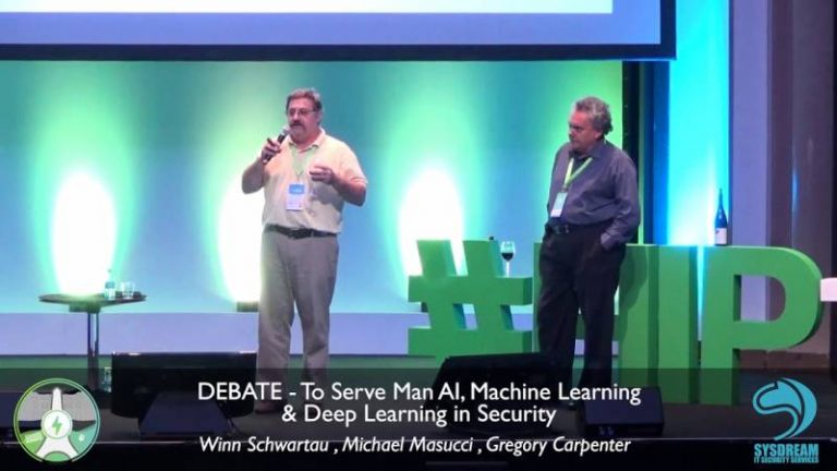 "Hack in Paris 2018 : Retour sur le débat ""To serve Man AI, machine learning & deep learning in security"""