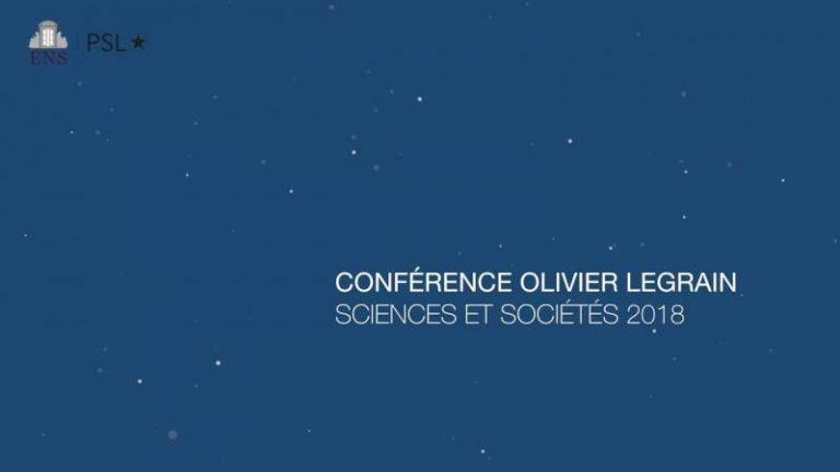 """""""Intelligence artificielle et cognition : les grands enjeux de société"""", retrouvez en vidéo la session sociétale de la Conférence Olivier Legrain 2018"""