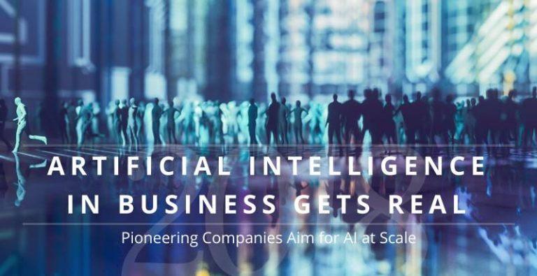 La MIT Sloan Management Review et le Boston Consulting Group publient une étude sur l'investissement des entreprises en intelligence artificielle