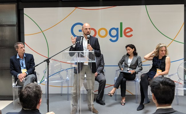 Google inaugure son centre de recherche en intelligence artificielle en France