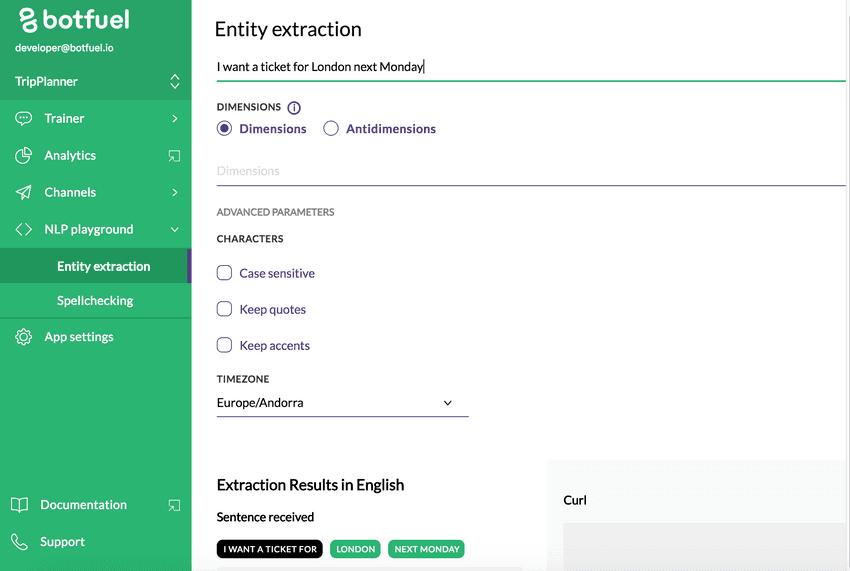 chatbot, plateforme, ML, NLP