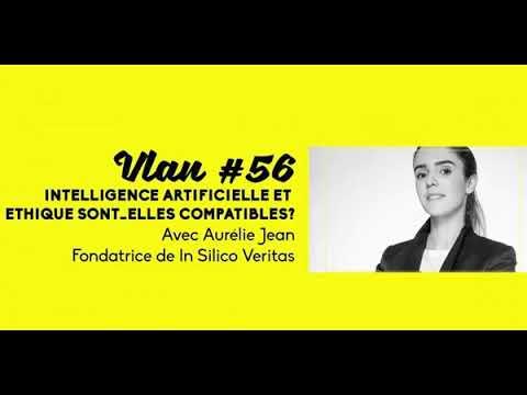 """""""Ethique et intelligence artificielle sont elles compatibles ?"""" – Le podcast Vlan 56 avec Aurélie Jean"""