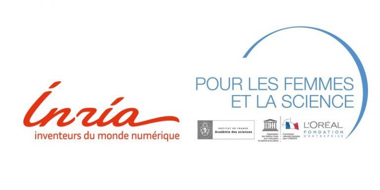 Stéphanie Challita et Fanny Orlhac, chercheuses Inria en cloud computing et en intelligence artificielle pour l'imagerie médicale, lauréates des Bourses France L'Oréal-UNESCO « Pour les Femmes et la Science »