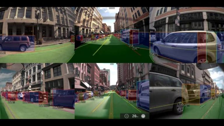 Voiture autonome : ce que Tesla Autopilot v9 peut voir