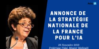 Annonce de la stratégie nationale de