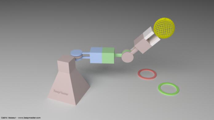 Cedric_vasseur_arm_bras_robot_simulation