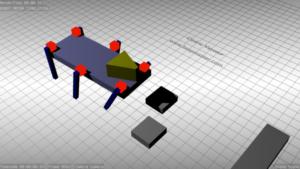 Cedric_vasseur_walking_robot_simulation