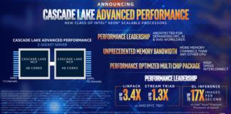 Processeurs Cascade Lake AP optimisés pour l'intelligence artificielle