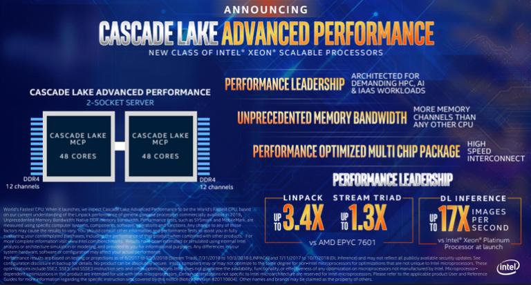 Intel Xeon Cascade Lake AP : un nouveau processeur prometteur pour l'intelligence artificielle, le calcul haute performance et l'IaaS