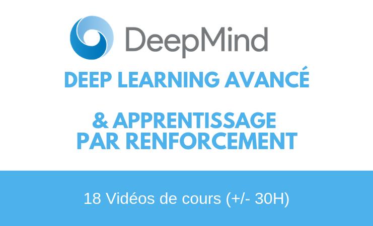 DeepMind publie des vidéos de cours sur le Deep Learning et l'apprentissage par renforcement