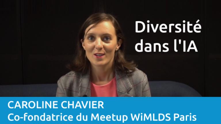 Interview de Caroline Chavier, co-fondatrice du Meetup WiMLDS Paris