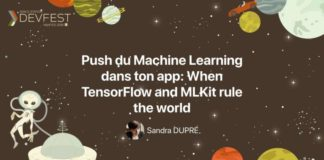 Push du Machine Learning dans ton App