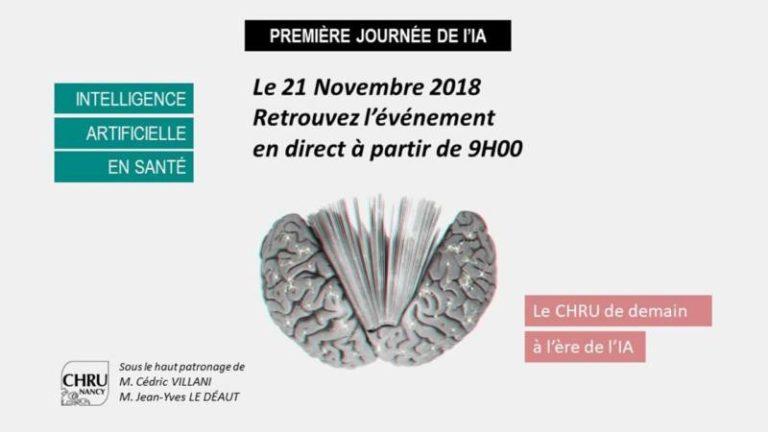 Conférence du CHRU de Nancy : L'intelligence artificielle en santé