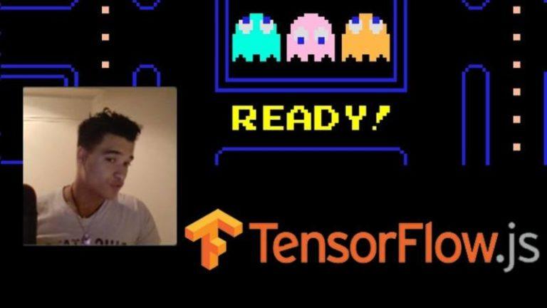 Tutoriel Tensorflow.js : Contrôler un Pacman avec la webcam depuis le navigateur
