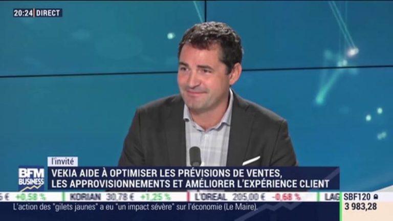 Philippe Hemard, ancien Directeur Supply Chain Europe d'Amazon, rejoint Vekia