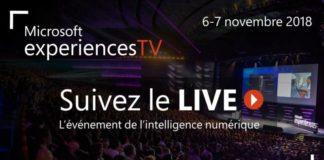 Suivez l'événement de l'intelligence numérique experiences18 en direct