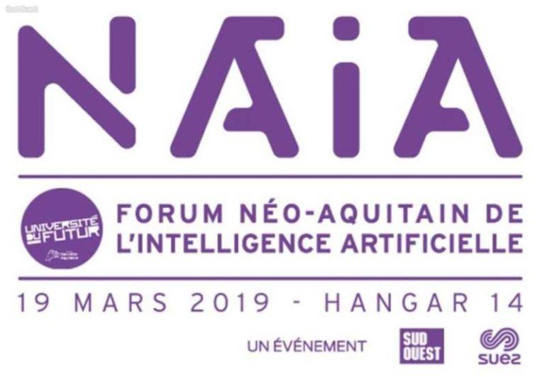 Découvrez NAIA, le 1er forum néo-aquitain de l'Intelligence Artificielle