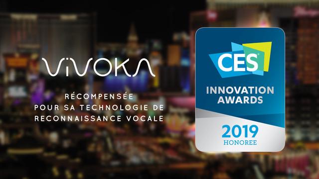 Vivoka reçoit le prix de l'innovation du CES pour sa technologie de reconnaissance vocale