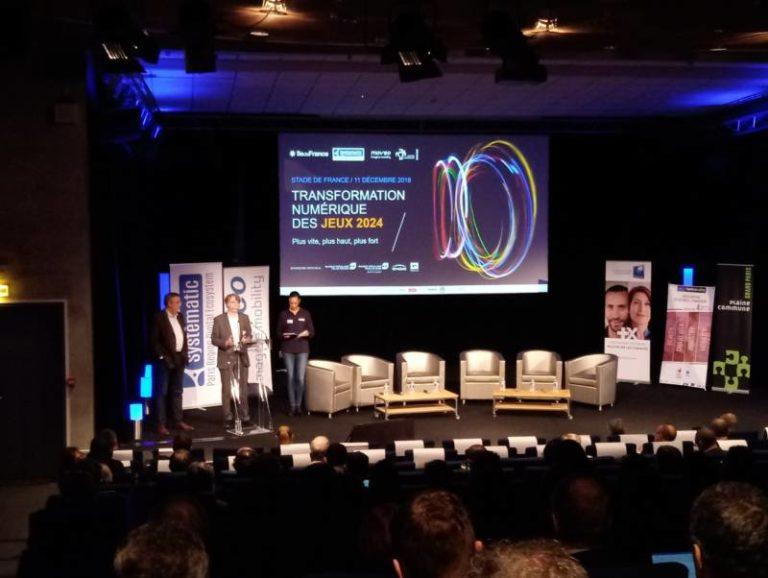 La Deep Tech et le numérique pour relever les défis des Jeux Olympiques et Paralympiques 2024 au coeur de l'événement de Systematic Paris-Region