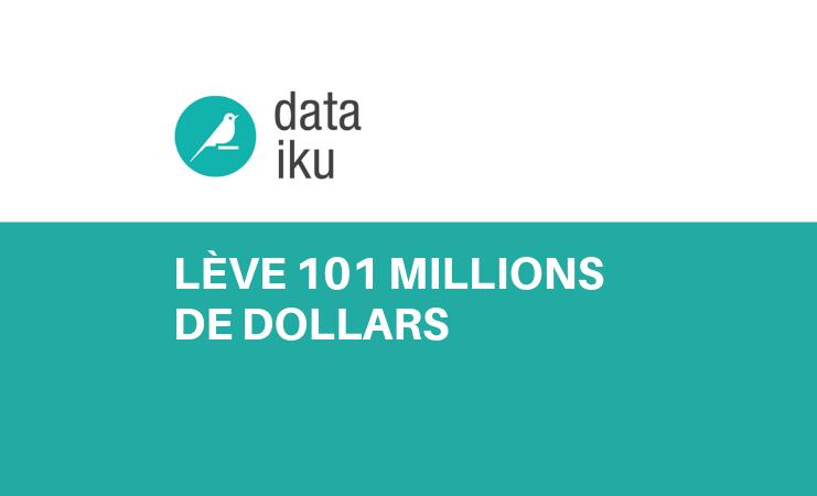 Dataiku lève 101 millions de Dollars