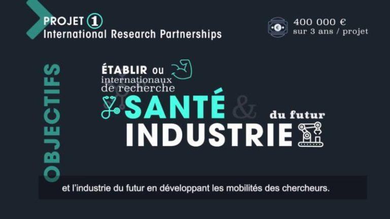 NExT, l'i-site nantais financera 8 projets dans le domaine de la santé et de l'industrie du Futur