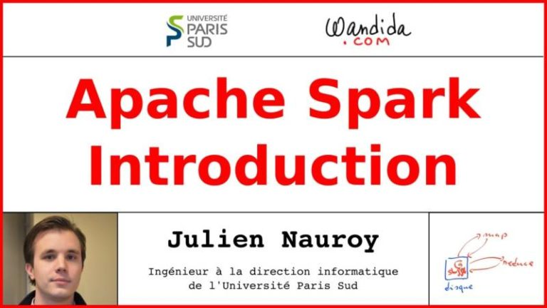 Présentation d'Apache Spark par Julien Nauroy