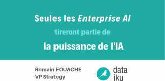 dataiku seules les enterprise ai intelligence artificielle