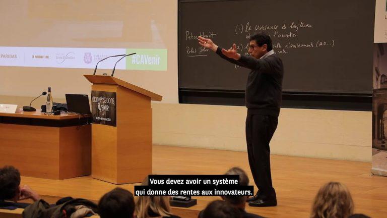 Conférence « Intelligence artificielle et croissance » par Philippe Aghion